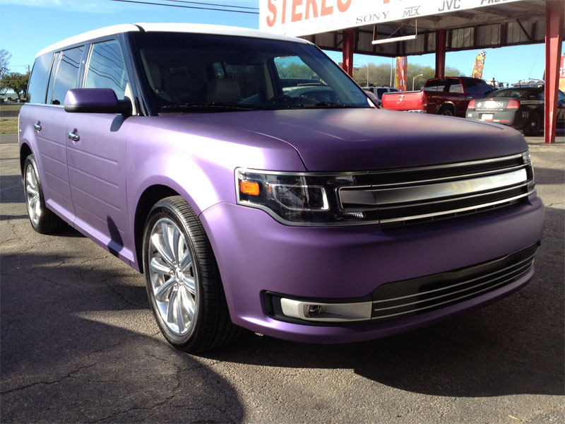 Metallic Matte Purple Ford Flex Graphics Guys